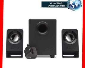 Sistema de parlantes Logitech Z213 compacto 2.1