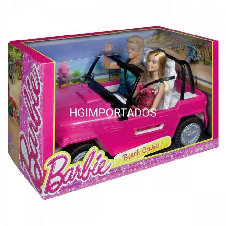 Barbie auto de playa - 0