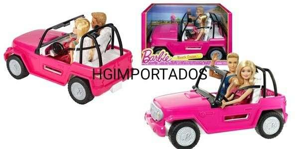 Barbie auto de playa - 1