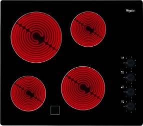 Anafe eléctrico Whirlpool vitrocerámico de 60 cm