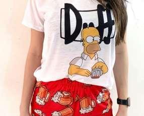 Pijama Duff femenino