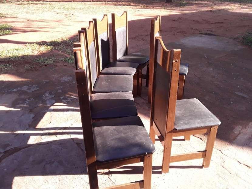 7 sillas para comedor - 0