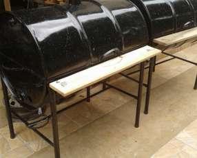 Parrilla tambor grande