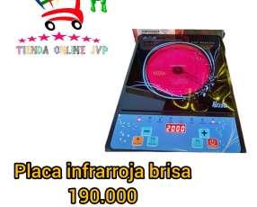Placa infrarroja