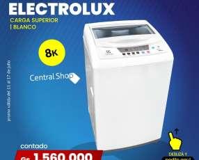 Lavarropas Electrolux 8k carga superior color Blanco