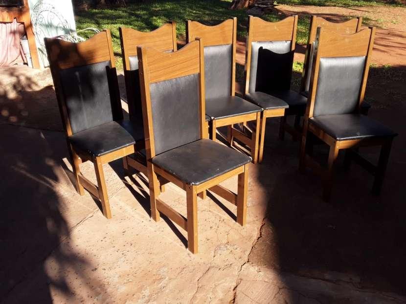 7 sillas para comedor - 3