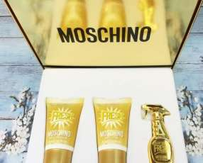 Set moschino - fresh gold couture