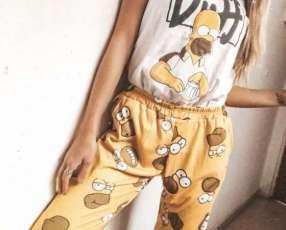 Pijama Homero femenino