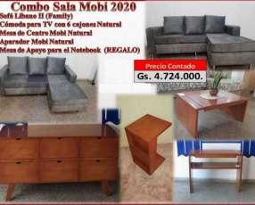 Combo Sala Mobi 2020