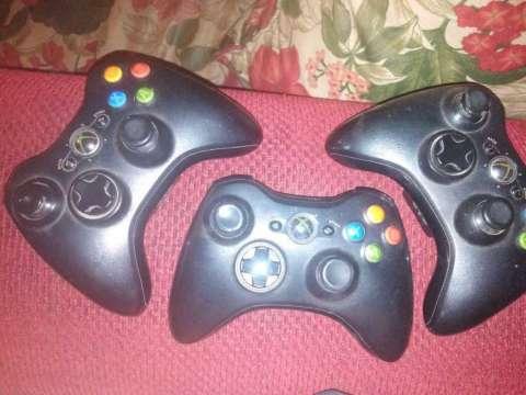 Controles de Xbox 360 y kinect