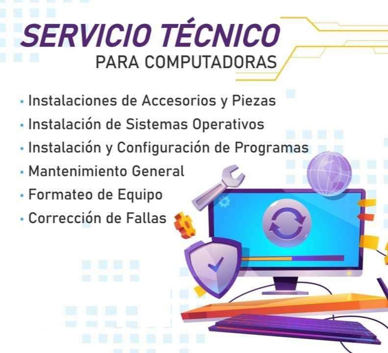Servicio técnico para computadoras - 0