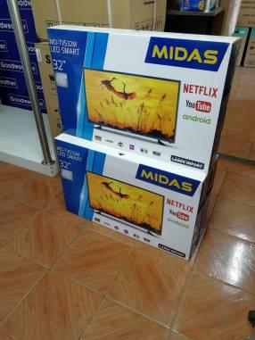 Smart TV LED Midas de 32 pulgadas