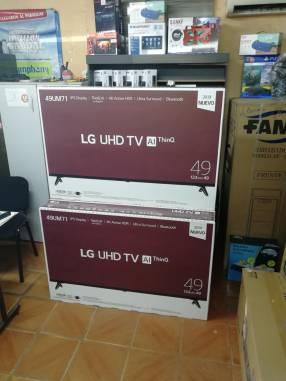 Smart TV LG 4K MOD 49UM71 de 49 pulgadas
