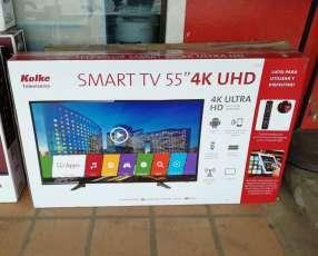 Smart TV 4K Kolke de 55 pulgadas