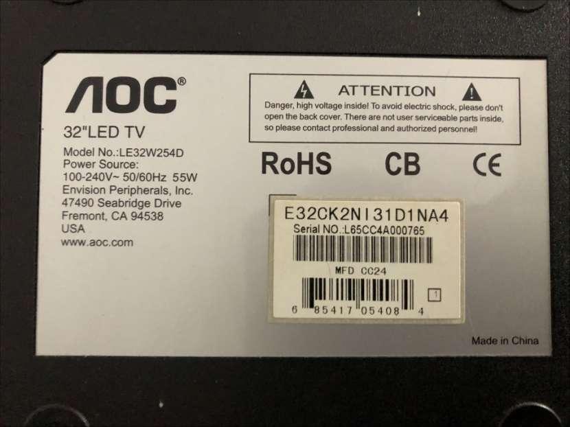 TV LED de 32 pulgadas AOC - 2