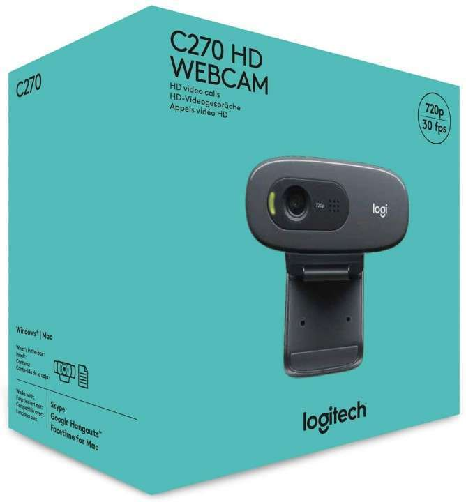 Webcam Logitech C270 HD - 2