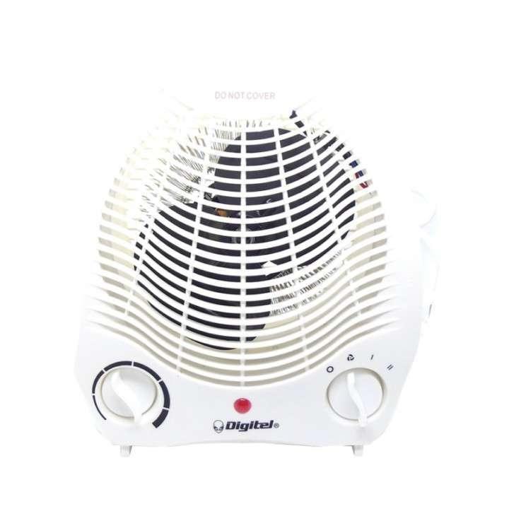 Calentador Digitel DG-2000 - 1.000 / 2.000W - 220V - 0