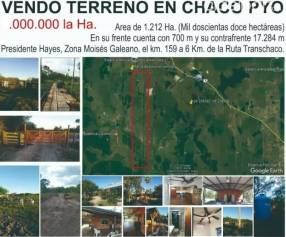 Estancia Equipada en Bajo Chaco