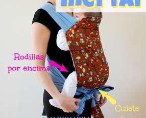 Porta bebé ergonómico modelo Mei Tai