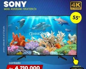 Smart TV Sony Ultra HD 4K de 55 pulgadas