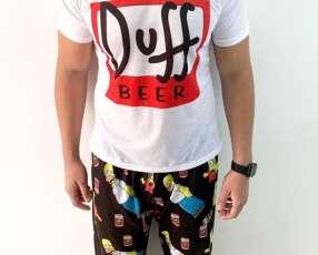 Pijama Duff Masculino 2020