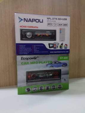 Autoradio Ecopower y Napoli