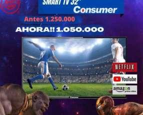 Smart TV Consumer de 32 pulgadas