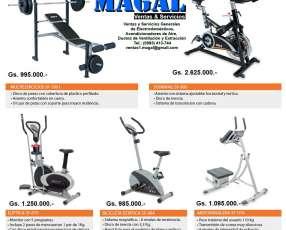 Equipos para ejercicios