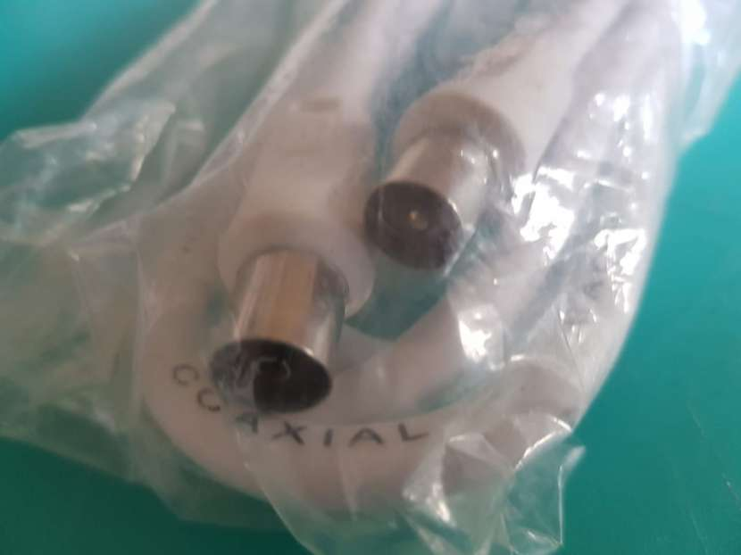 Cable coaxial para tv macho - hembra - 1