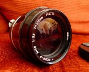 Lente Nikon 105MM F/2.5 manual macro ideal para retratos