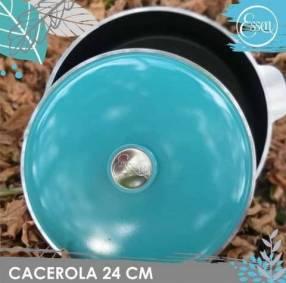 Cacerola Essen Linea Aqua 24 cm