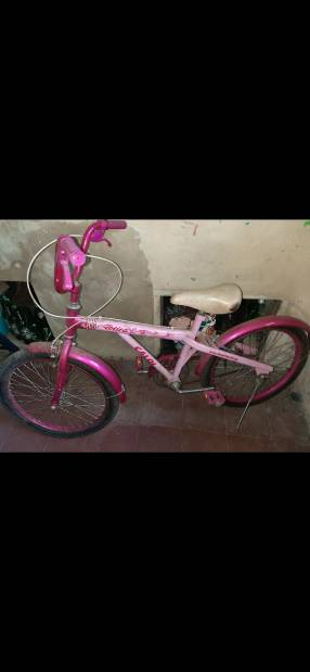 Bicicleta Caloi fucsia mediano