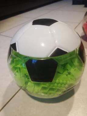 Kit 5 pelotas de ladrillos armables