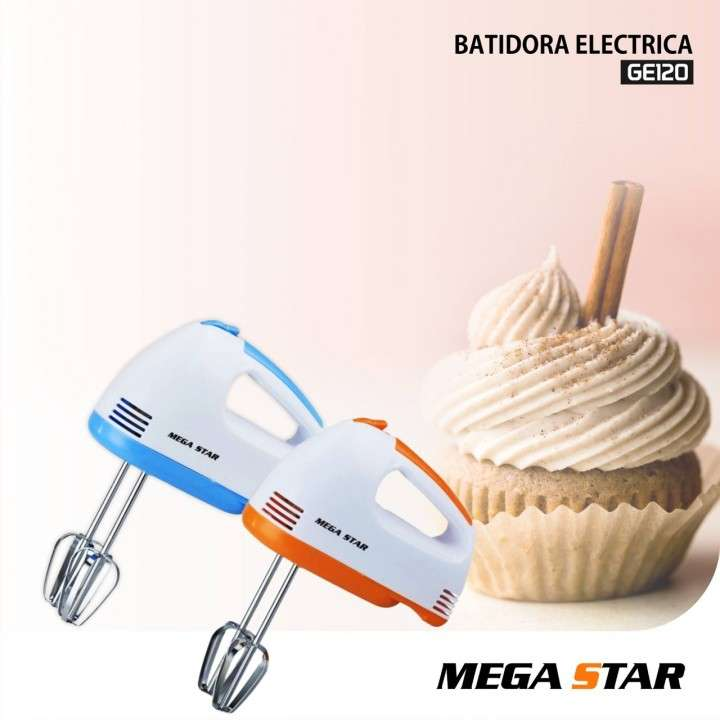 Batidora de mano Mega Star GE120 - 0