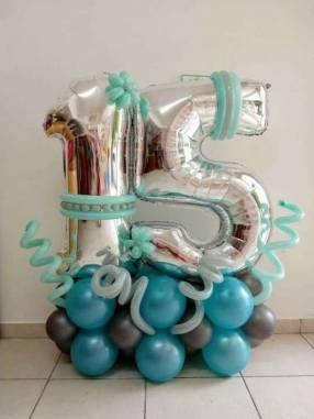 Bouquet de globos fijo