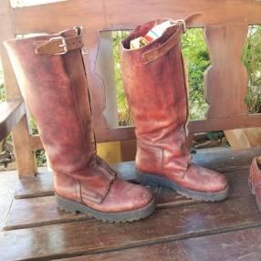 Botas de cuero calce 42