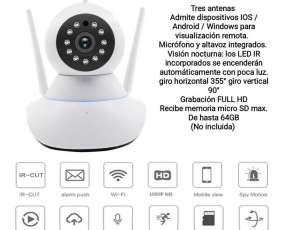 Cámara robótica wifi