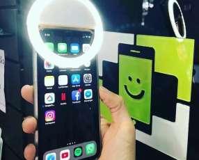 Portacel+Luz LED