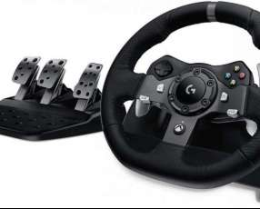 Volante Logitech G920 Driving Force Xbox y PC