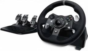 Volante Logitech G920 Driving Force Xbox y PC