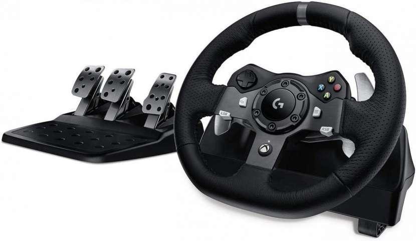 Volante Logitech G920 Driving Force Xbox y PC - 0