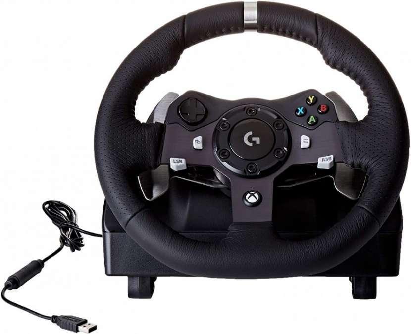 Volante Logitech G920 Driving Force Xbox y PC - 1
