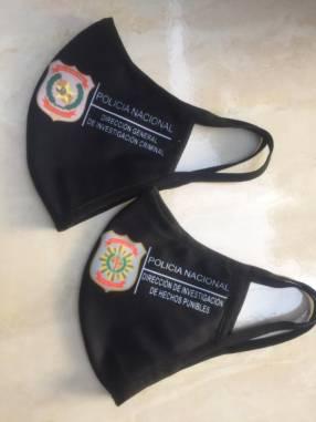 Tapabocas personalizados exclusivos bordados sublimados