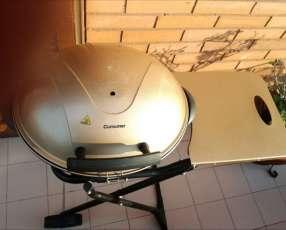 Parrilla Consumer eléctrica grill plegable