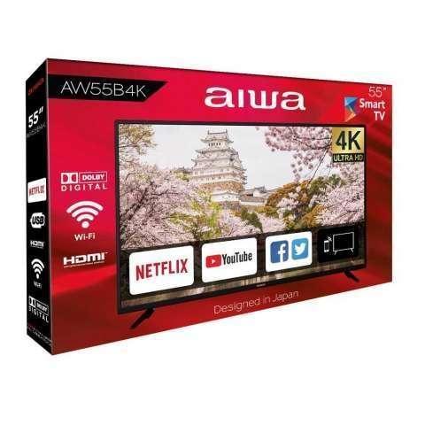 Smart tv 55 pulgadas 4K ultra - 0