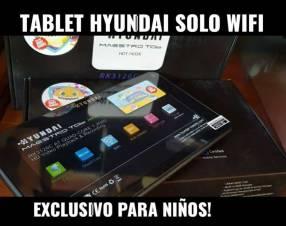 Tablet Hyundai sólo wifi
