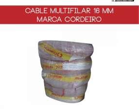 Cable multifilar 16mm rollo de 100 metros