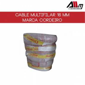 Cable multifilar 16mm rollo de 100 metros