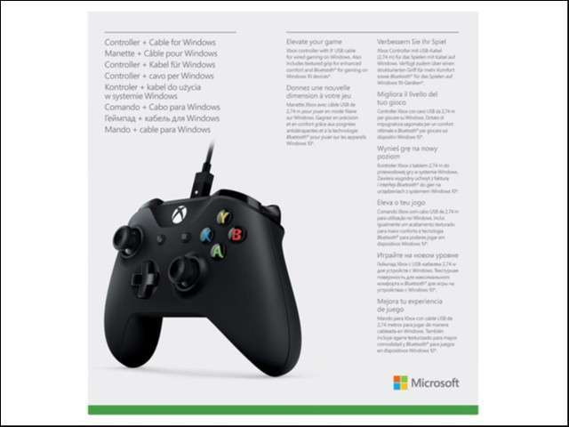 Control Xbox One wireless con cable/pc 4N6-00001 - 4