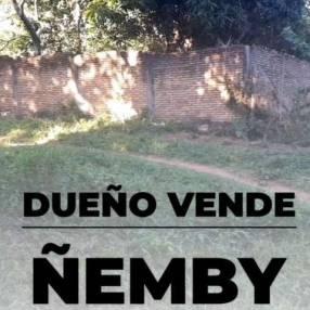 Terreno de 22x25 en Cañadita Paso de Patria Ñemby